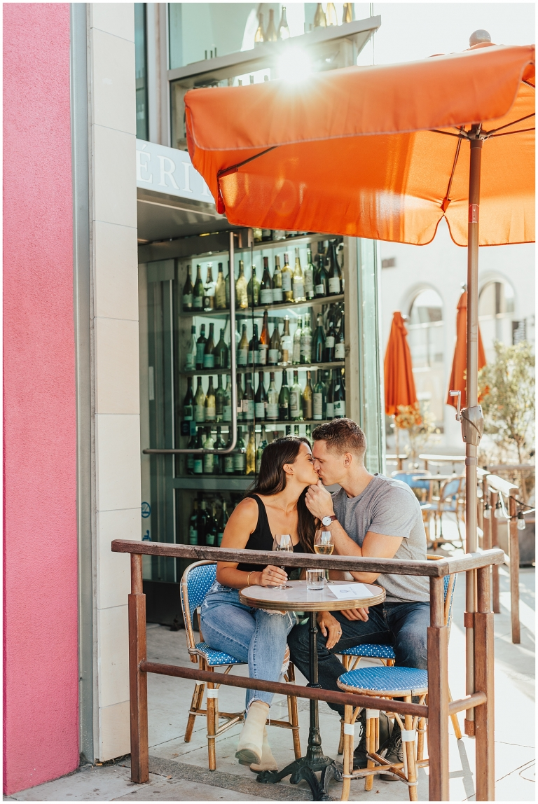 Rodeo Drive Engagement Session