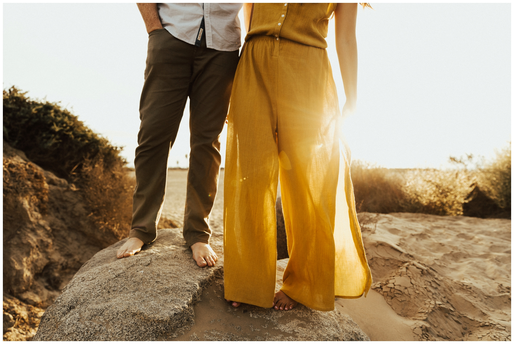 San Diego Engagement Session at Fiesta Island