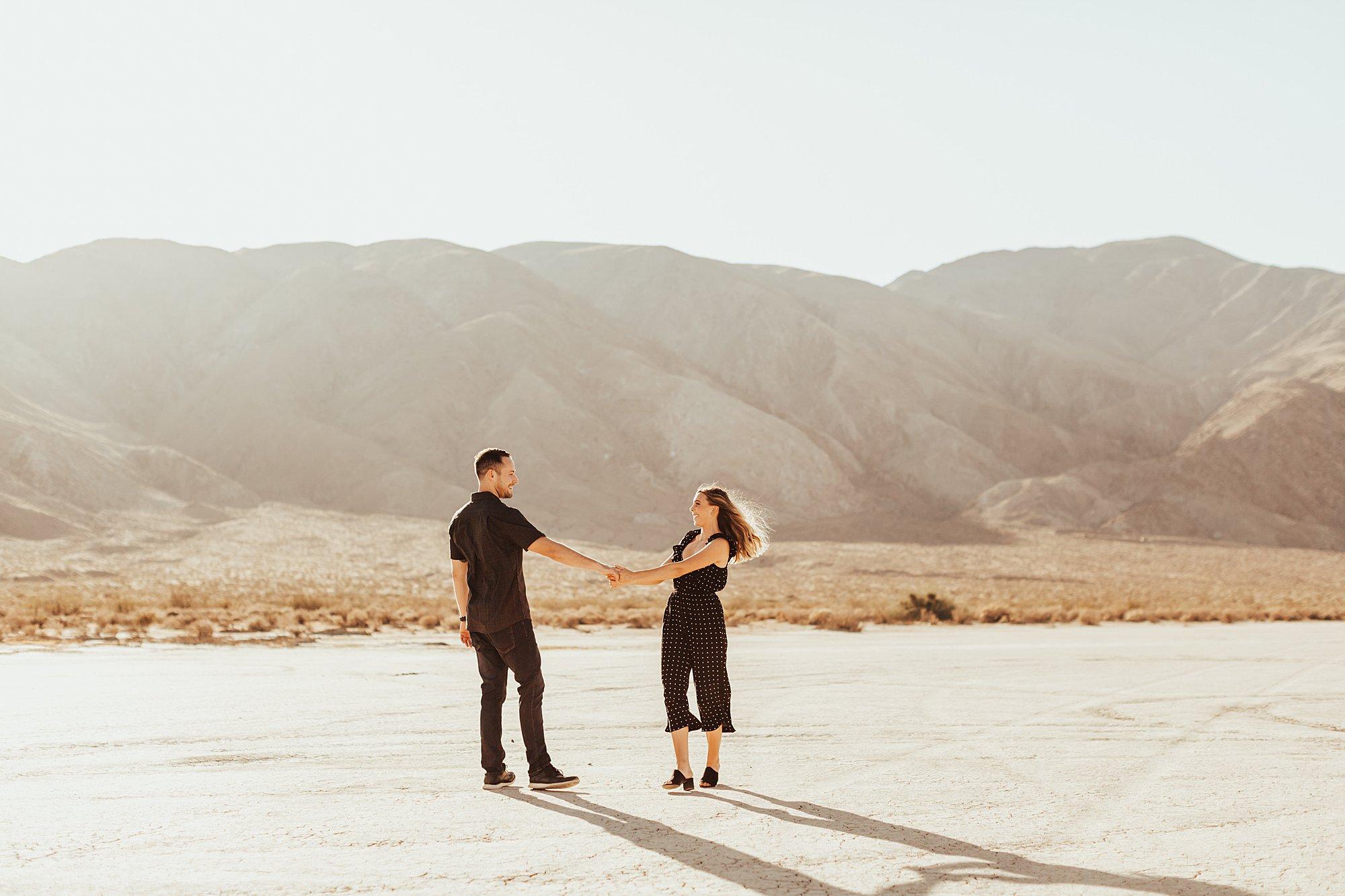 Anza Borrego Engagement Session + Rimrock Ranch Wedding