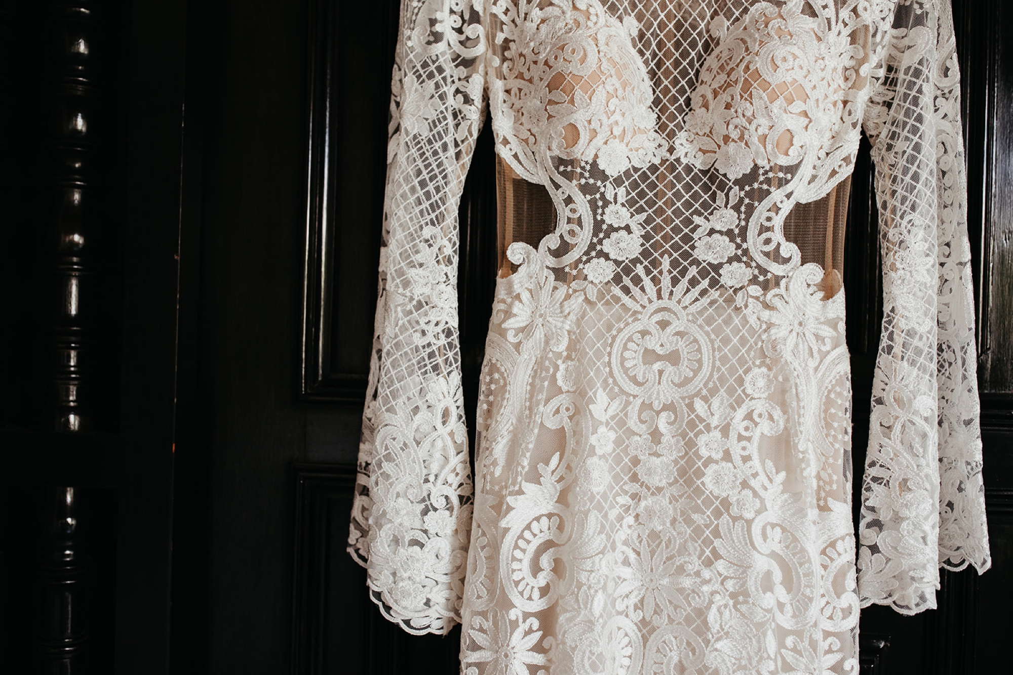 Bohemian Wedding Dress by Adam Zohar