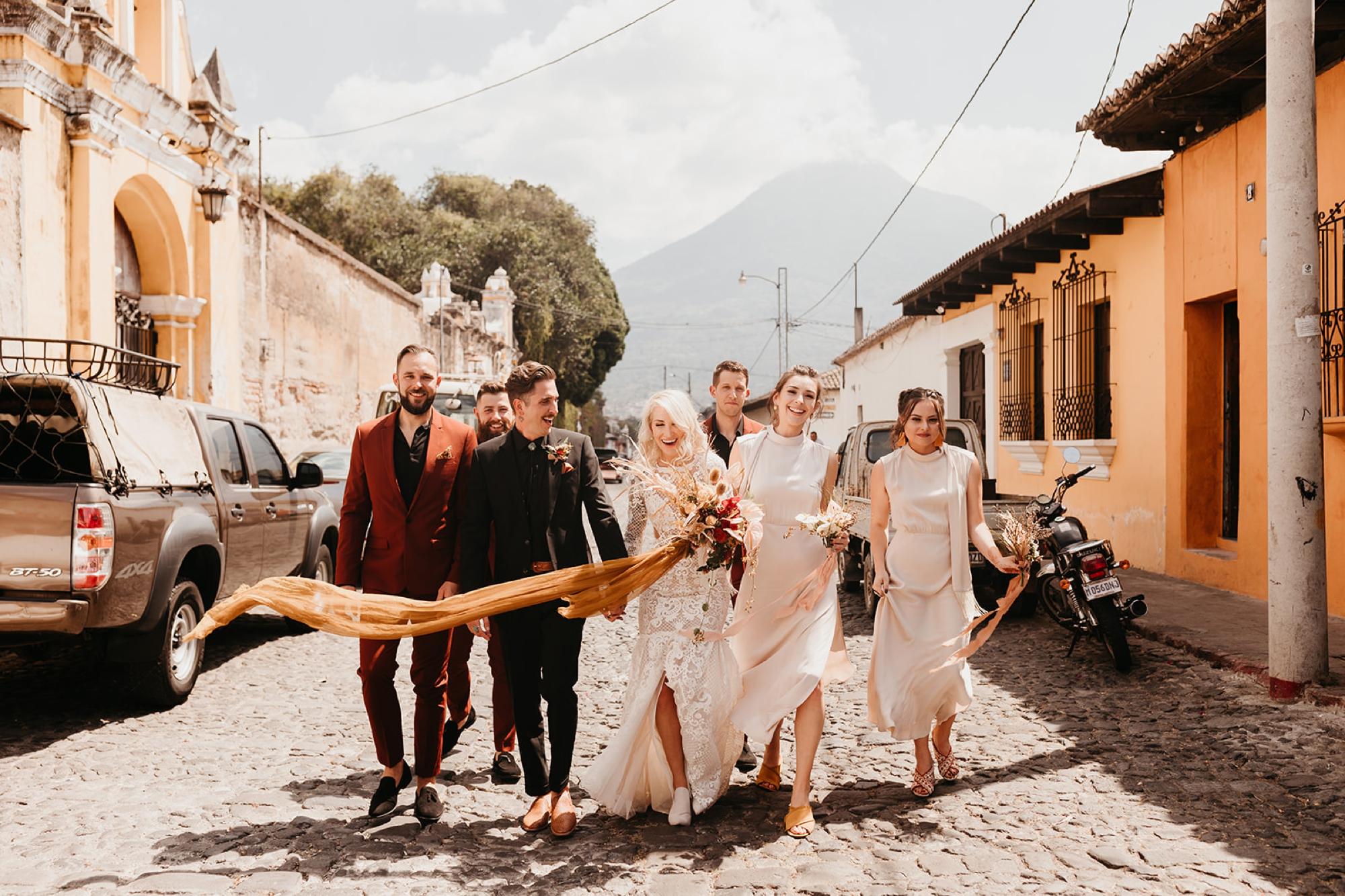 Bridal Party in Antigua