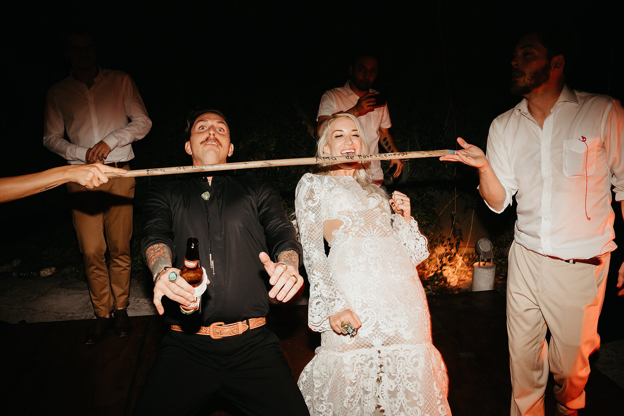 Bride and Groom Limbo