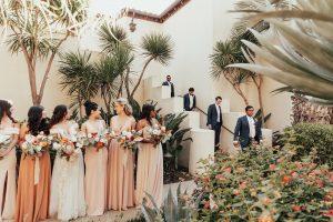 Wedding Party in La Jolla