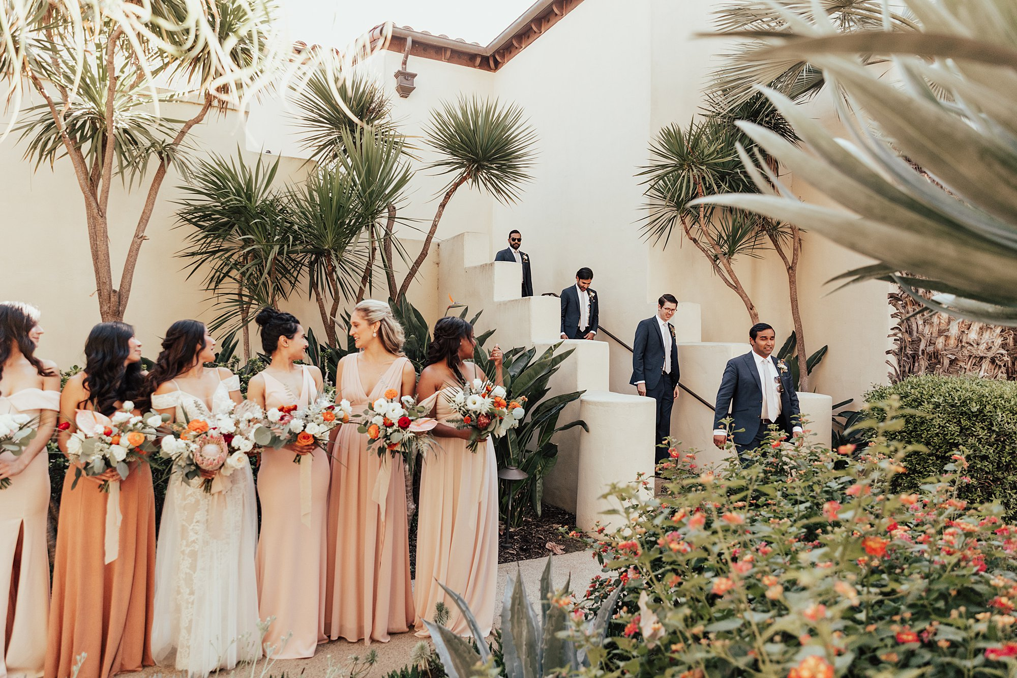 Wedding Party in La Jolla