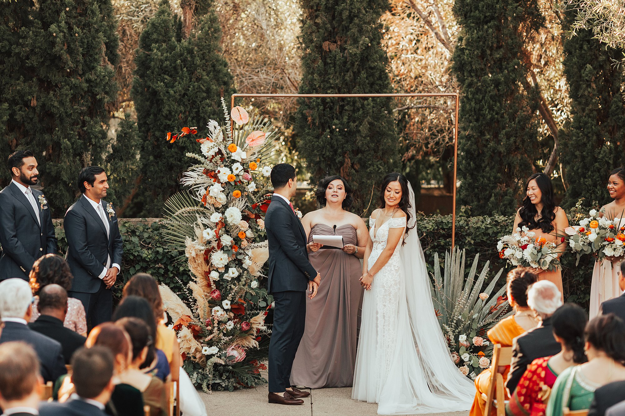 Ceremony at Estancia La jolla