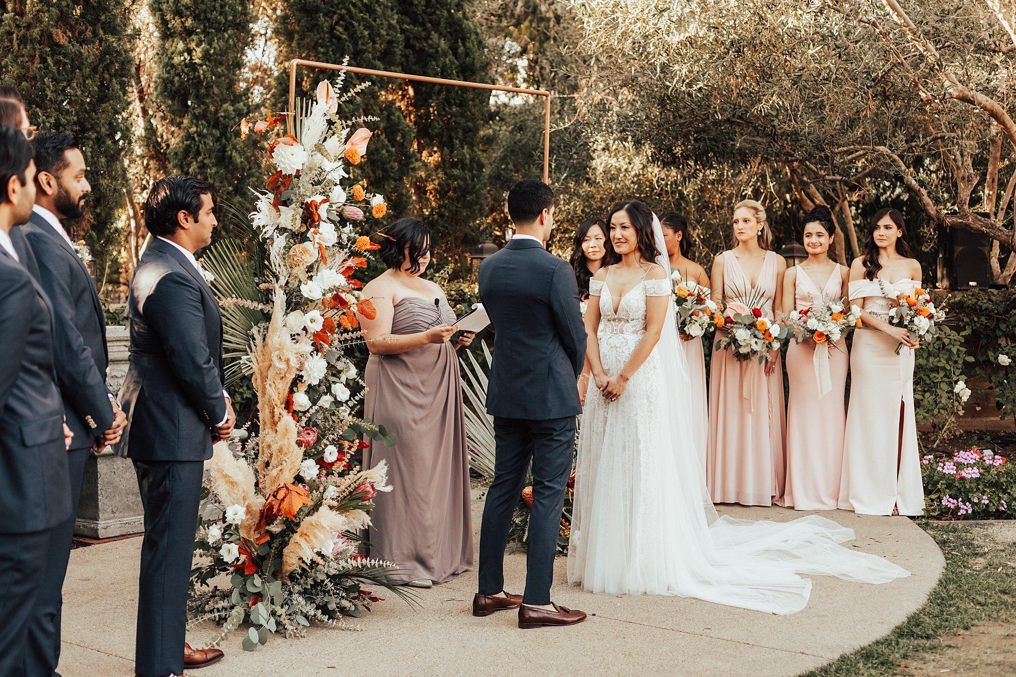 Ceremony in La Jolla
