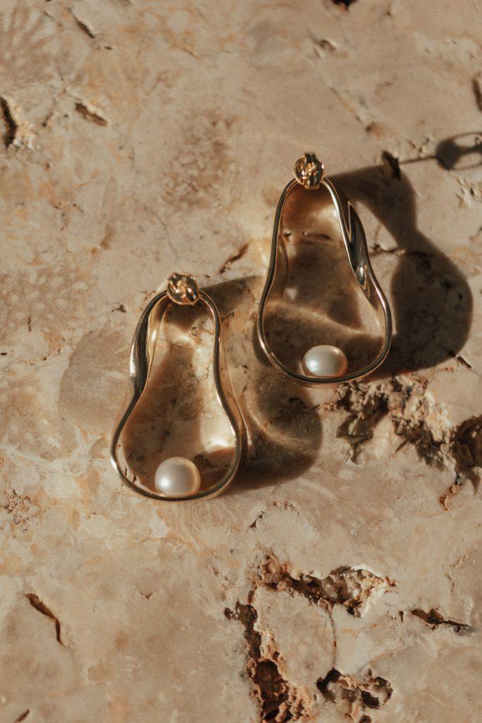 Palm Springs Wedding Earrings